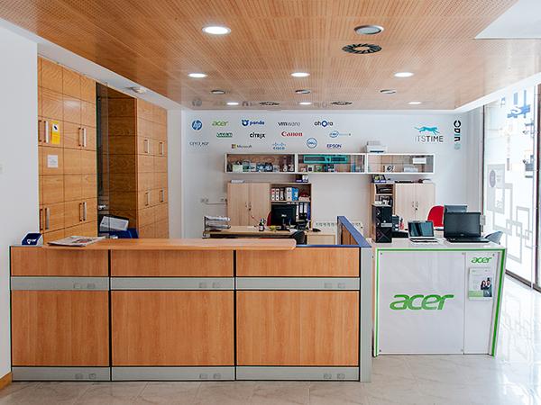 Acceso instalaciones ITS Academia