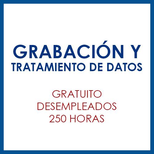 Grabación y tratamiento de datos
