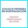 Auxiliar de enfermería en hospitalización