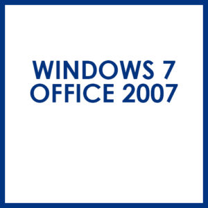 Windows 7 Office 2007