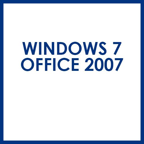 Windows 7 Office 2007