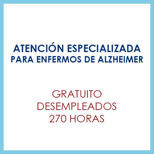 Atención especializada para enfermos de alzheimer
