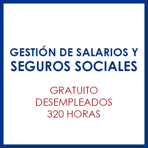 Gestión de salarios y seguros sociales