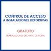 Control de acceso a instalaciones deportivas