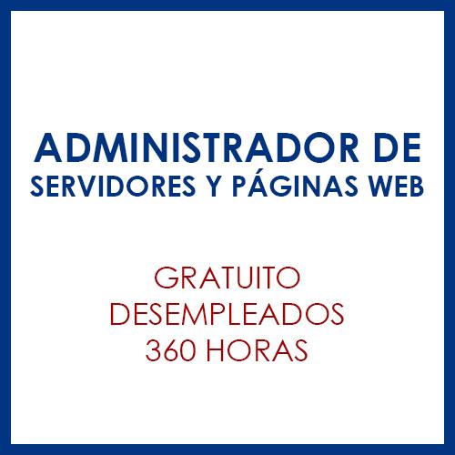 Administrador de servidores y páginas web