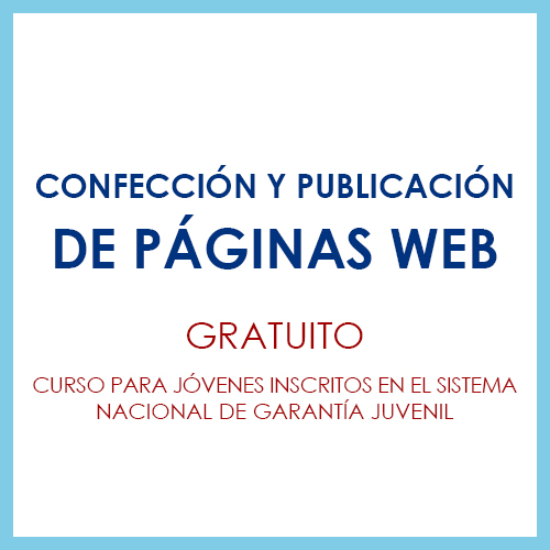 Confección y publicación de Páginas Web (IFCD0110)