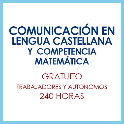 Comunicación lengua castellana competencia matemática